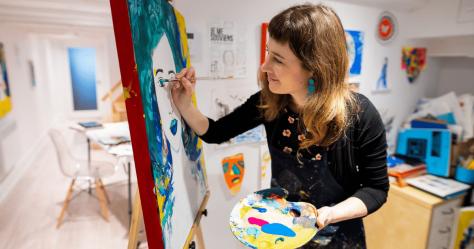 Paroles d'artistes: Karine Martineau