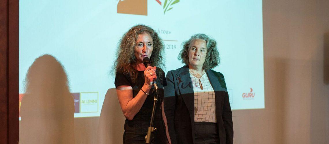 7 - Emmanuelle Darras et Cécile Lazartigues-Chartier - Crédit photo Geoffroy Ingret - Racines Sud - Montréal 24 avril 2019